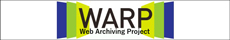 Web Archiving Project (WARP) has been collecting and preserving websites since 2002.