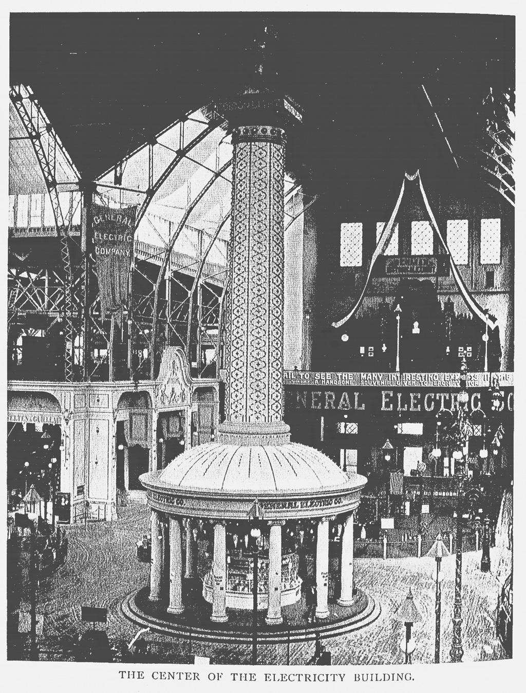 エディソンタワー(拡大画像)   博覧会―近代技術の展示場