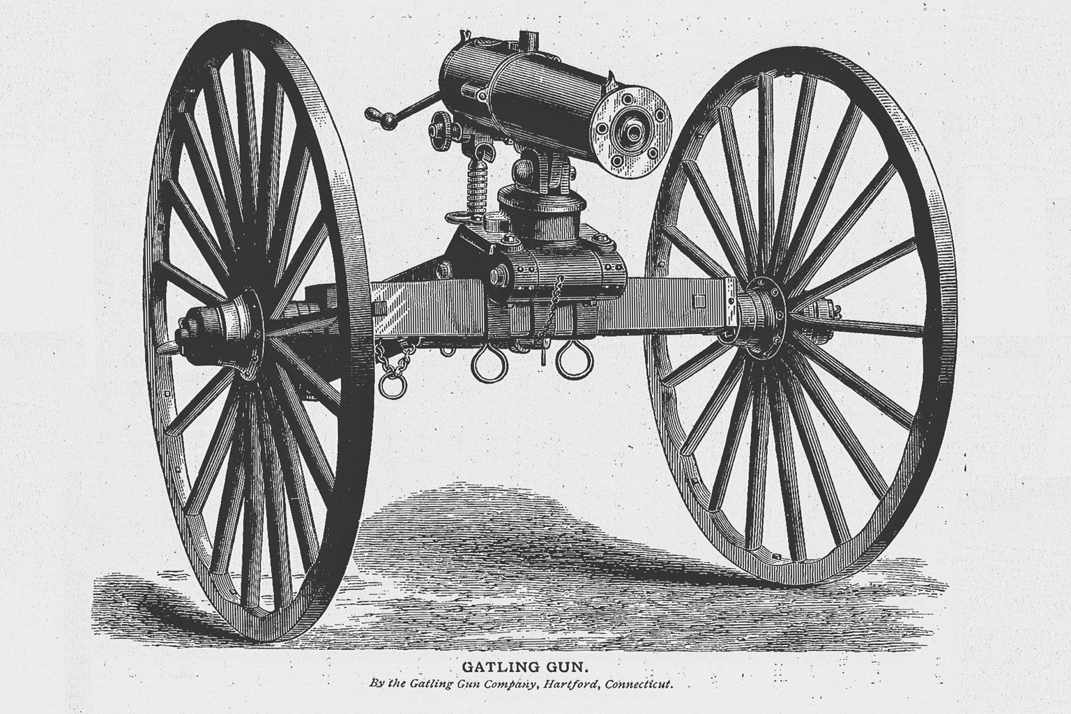 La fabuleuse histoire de la Gatling 799l