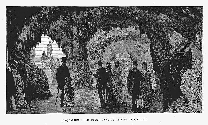 トロカデロ水族館(1878年パリ万博)(標準画像) | 博覧会―近代技術の展示場
