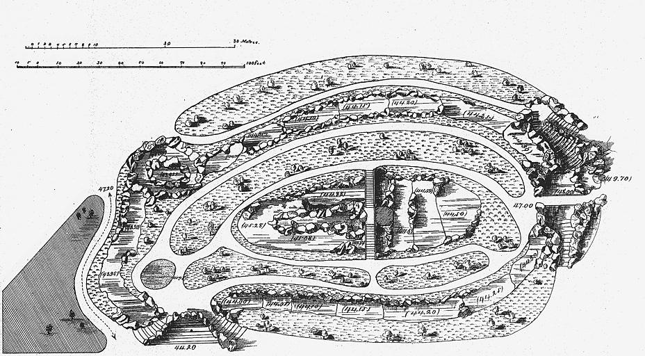 水族館会場図面(1878年パリ万博)(標準画像) | 博覧会―近代技術の展示場