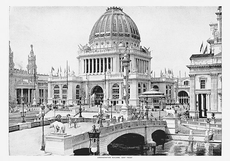 博覧会本部(Administration Building)(標準画像)   博覧会―近代技術 ...