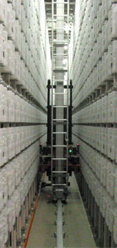 A picture of the Automatic stacks