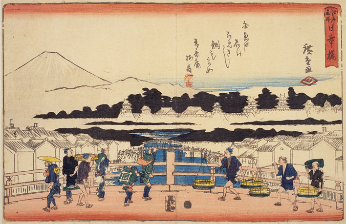 Edo meisho Nihon-bashi (Open in a new window)