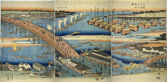 永代橋全図を新しいウィンドウで開きます。