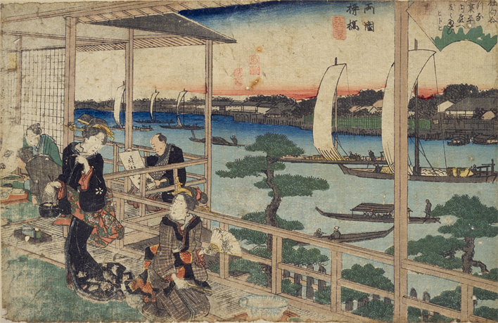 Ryogoku Yanagi-bashi (Open in a new window)