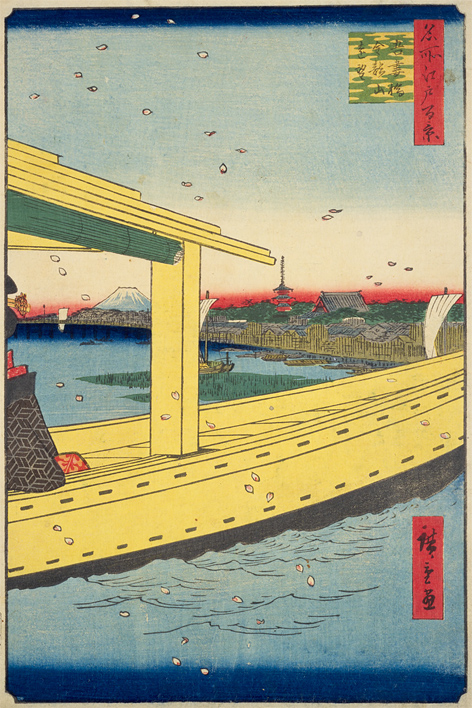 Azuma-bashi Kinryuzan enbo (Open in a new window)